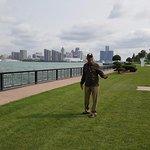 Detroit river view