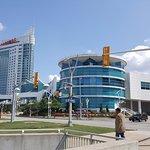 Exterior view of casino