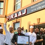 Viraaj Team celebrating award win