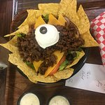 """So tasty, so good , Here is the Taco Salad, Only at ERNIE""""S !!!!!!!!!!!"""