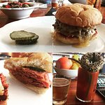 The Burger, Bologna Sandwich, and a Bloody Mary