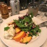 Peach & Arugula Salad ($11)