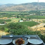 lunch time view from Miradoro Restaurant