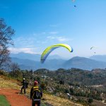Paragliding in Pokhar