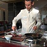 Chateaubriand prepared tableside