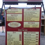 Foote's Rest menu