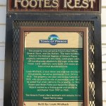 History of Foote's Rest building