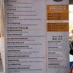 9280 beverage menu