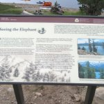 Seeing the Elephant Sign, Caples Lake, Eldorado National Forest