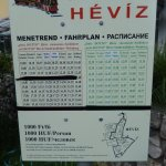 Hévíz Dotto timetable and map