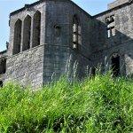 One of the coastal castles all along the Northumberland coastal road.