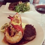 Dinner - Surf & Turf and the Beef special