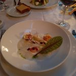 Asparagus with lobster