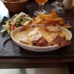 Filet mignon de porc gratiné au Vieux Lille