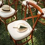 The ceremony chairs