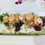 Scallop Shrimp Salad