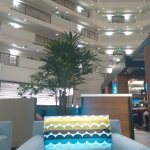 Lobby level restaurant