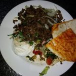 Lamb Shawarma.