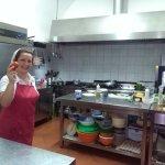 Michela e la sua cucina
