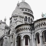 Rear of the Sacre Coeur