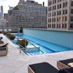 Pool on 7th floor