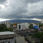 view to doi Suthep from my room