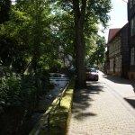 mooie straatjes langs riviertje Goslar