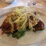 Poached Pear and Cambozola Bruschetta - DELICIOUS!