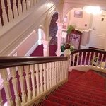 imposing main staircase