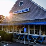 Sun setting on another Seafood Sam's day serving Yarmouth, etc,