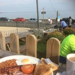 Breakfast with a sea view