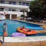 Pool with chldren's area