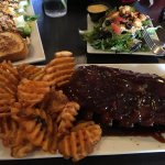 Ribs & Crinckle chips