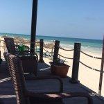 Terrasse / Bar sur la plage.