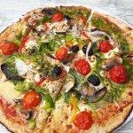 Pizza végétarienne Végé-terre