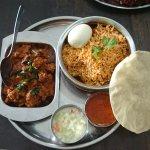 Chicken Briyani + mutton