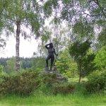 Statue dedicated to the LumberJills