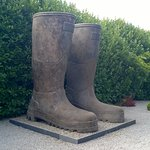 Land of the giant wellies