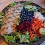 Fresh Whitefish House Salad