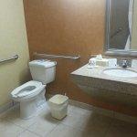 Spacious & Accessible Washroom