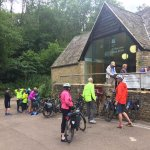 Day 2 on our guided Oxford to Bath Cycling Holiday, through South Cotswold's