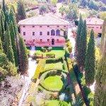 Villa Armena from the sky