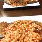 Old Swan Hotel - Harrogate - don't do basic beans, vegan-veggie staple