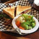 My BLT with veggies