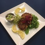 House-made Crab Cakes with Jalapeno Remoulade