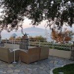 Foto de Dafne of the Grand Hotel Aminta outdoor à la carte