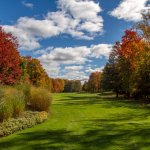 Our pristine golf courses are a spectacular sight  in the fall.