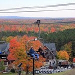 For gorgeous views, we recommend a fall chairlift ride held select days September - October.
