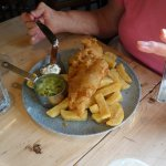 Best fish and chips. Only £7 before 6:30!