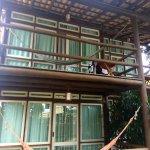 Vista de las habitaciones (balcón), desde fuera